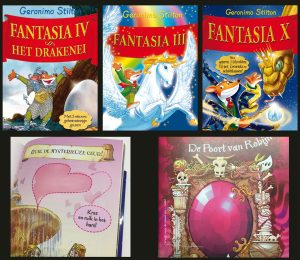 Met geurinkt in een kinderboek wordt het boek nog spannender en echter