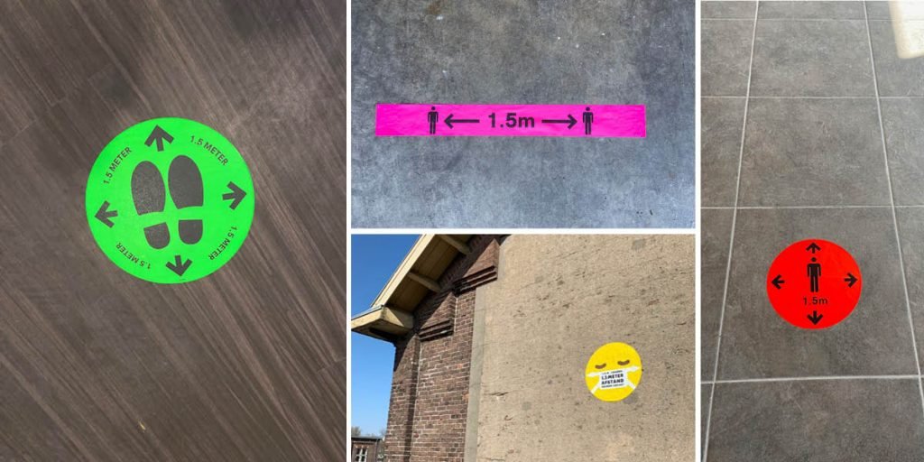 Corona-stickers