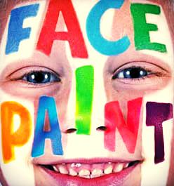 Face Paint Inkt